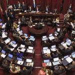 Condecoração no Senado Argentino