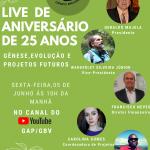 Live 25 anos do GBV