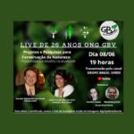 Live de 26 anos do GBV !